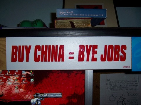 Buy China = Bye Jobs