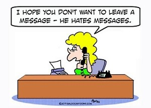 Boss hates messages