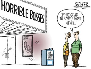 horrible bosses cartoon