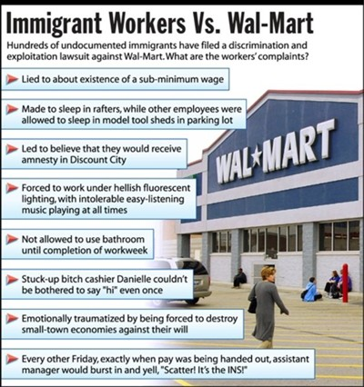immigrant workers vs wal-mart