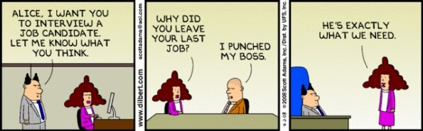 why did you leave your last job?