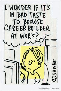 Job search cartoon