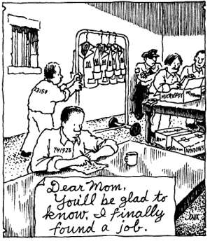 Prison job cartoon