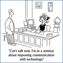 Virtual meeting cartoon