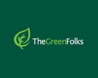 the green folks logo