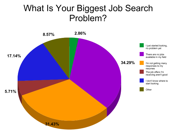 What Is Your Biggest Job Search Problem? Poll Results