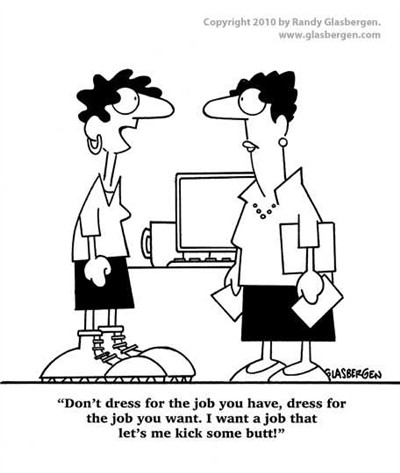 dress for success cartoon