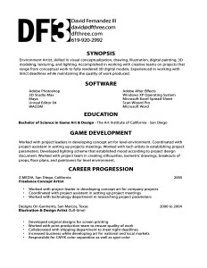 Really Good Resume Templates 20.07.2017
