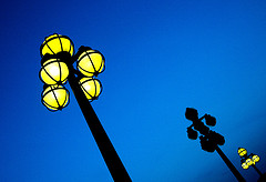 Night lamp posts