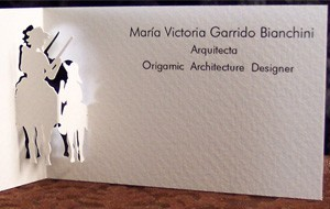 Marivi Garrido Bianchini's business card