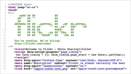 flickr-source-code-recruitment-marketing