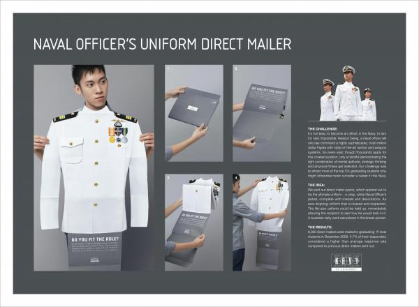 republic of singapore navy uniform recruitment marketing