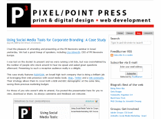 Pixel/Point Press blog