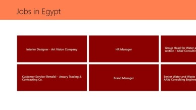 jobs in egypt