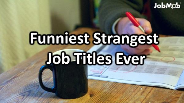 Funniest Strangest Job Titles Ever