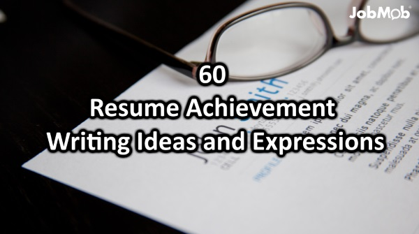 60 Resume Achievement Writing Ideas And Expressions  Achievements Resume