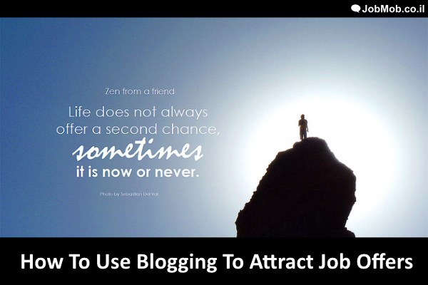 Read more about the article How To Use Blogging To Attract Job Offers