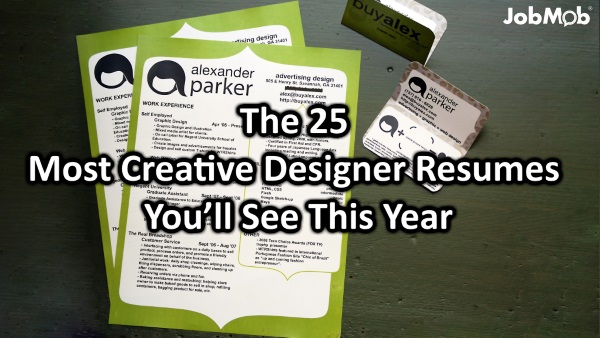 The 25 Most Creative Designer Resumes Youu0027ll See This Year  Most Creative Resumes
