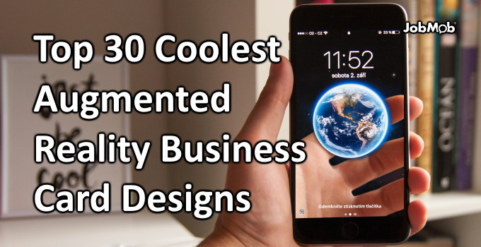 Read more about the article 😎 Top 30 Coolest Augmented Reality Business Card Designs