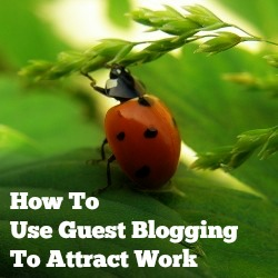 Read more about the article How To Use Guest Blogging To Attract Work
