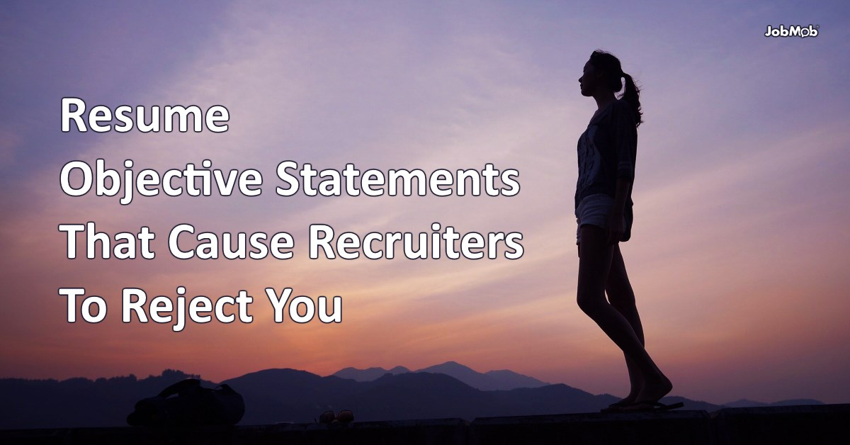 Resume Objective Statements That Cause