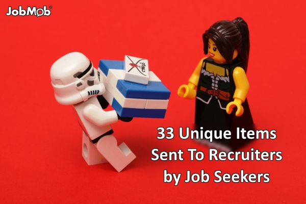 🎁 33 Unique Items Sent To Recruiters by Job Seekers