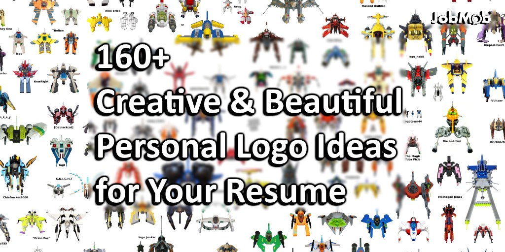 160 Creative Beautiful Personal Logo Ideas For Your Resume