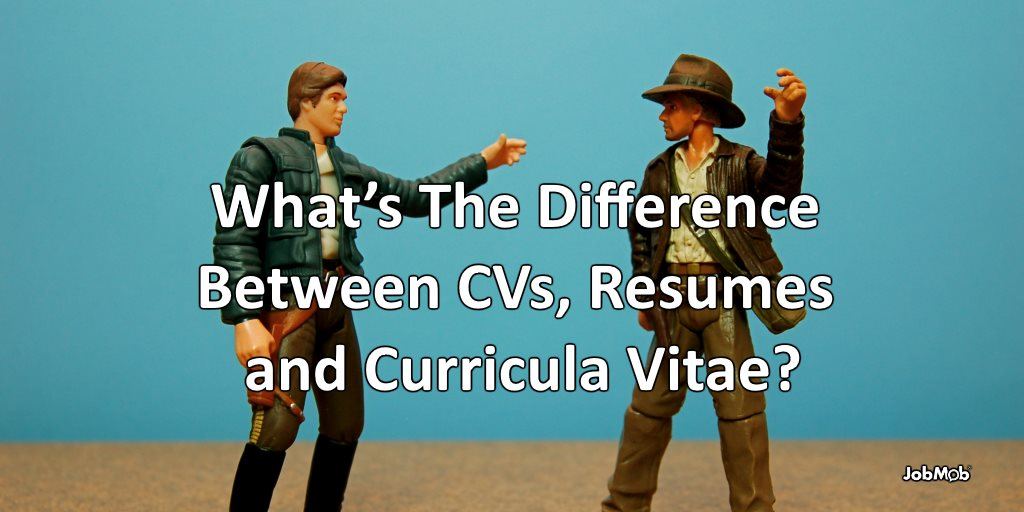 what s the difference between cvs resumes and curricula vitae
