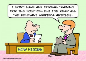 applicant job wikipedia cartoon