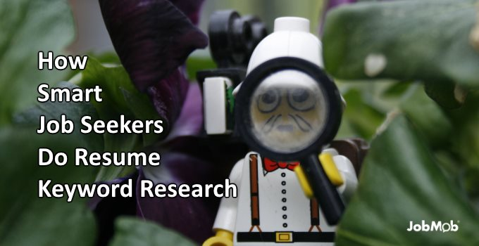 🔍 How Smart Job Seekers Do Resume Keyword Research