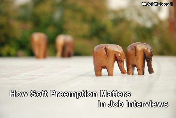 How Soft Preemption Matters in Job Interviews