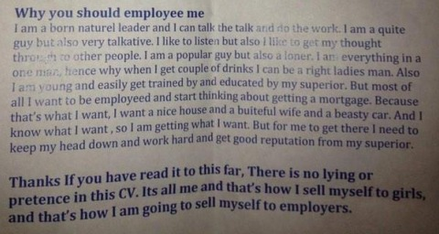 why you should employee me