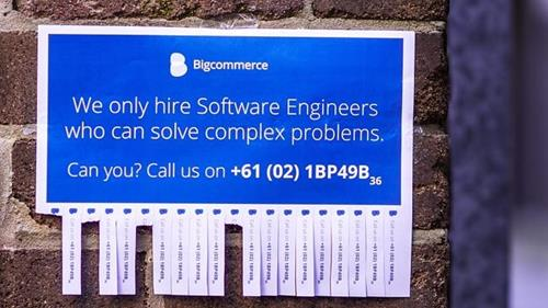 big commerce software engineers recruitment marketing