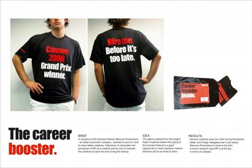 mercurio productions the career booster recruitment marketing