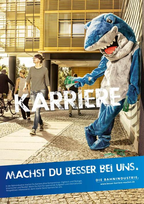 the railway industry association in germany shark recruitment marketing