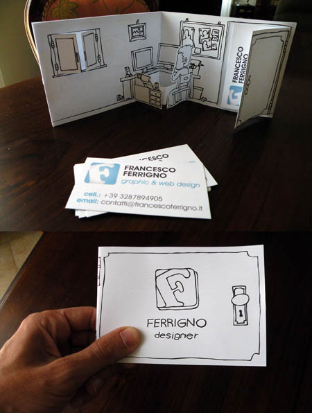 ferrigno business card holder