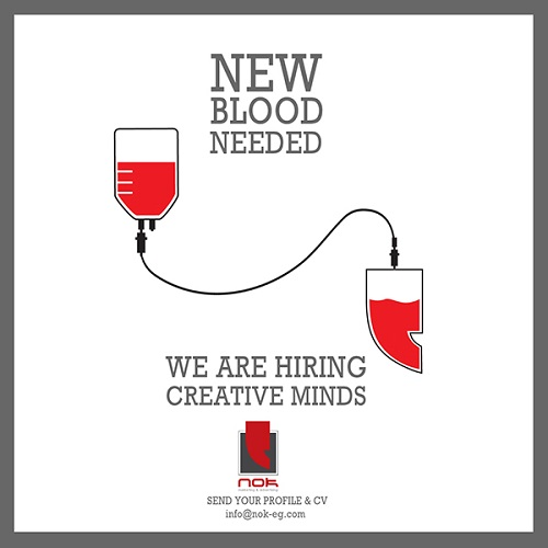 new blood needed talent recruitment marketing