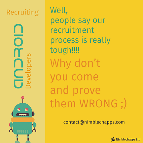 nimblechapps android developer talent recruitment marketing