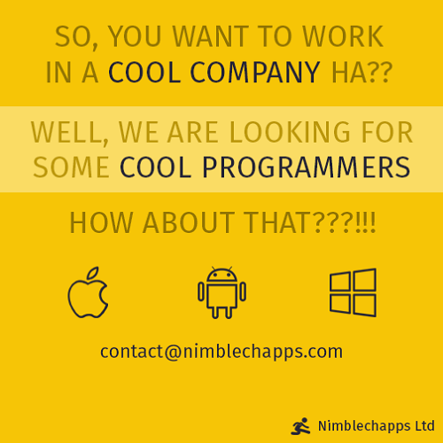 nimblechapps programmer 2 talent recruitment marketing