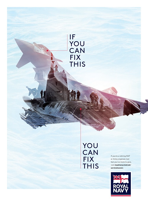 royal navy and royal marines talent recruitment marketing