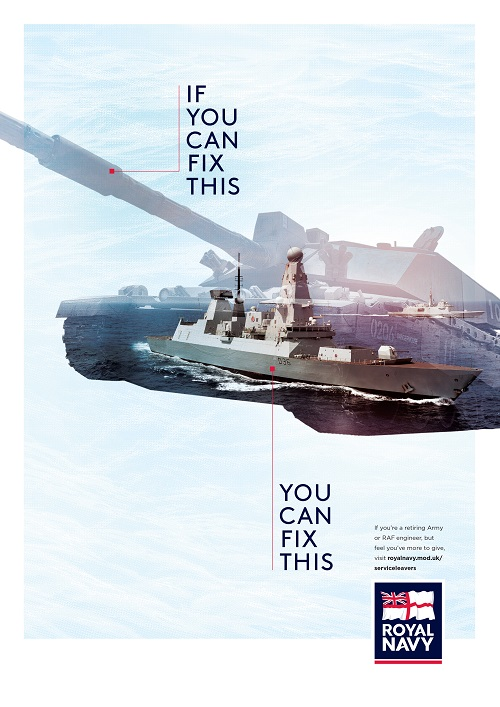 royal navy talent recruitment marketing