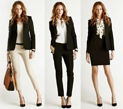 womens interview style