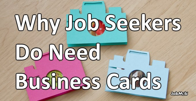 Read more about the article 📇 Why Job Seekers Do Need Business Cards