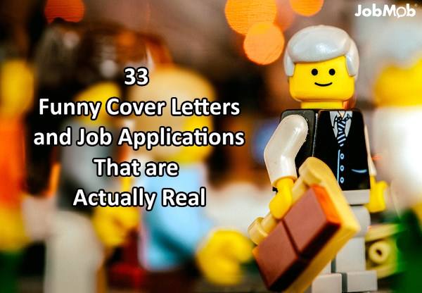 😜 33 Funny Cover Letters and Job Applications That are Actually Real