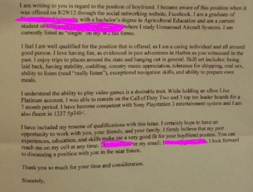 33 Funny Cover Letters And Job Applications That Are
