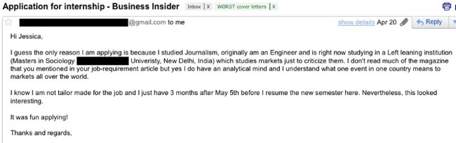 business insider negative applicant