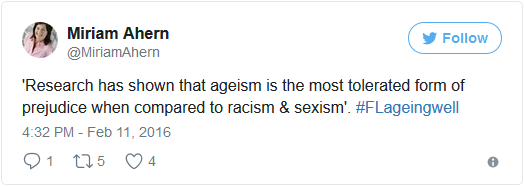 miriam ahern ageism most tolerated prejudice tweet
