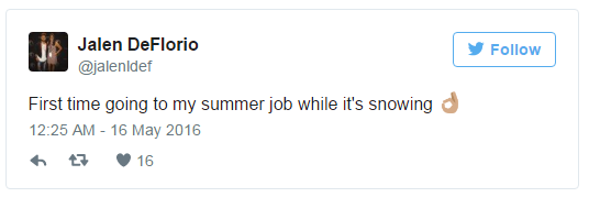 summer job tips tweet 5