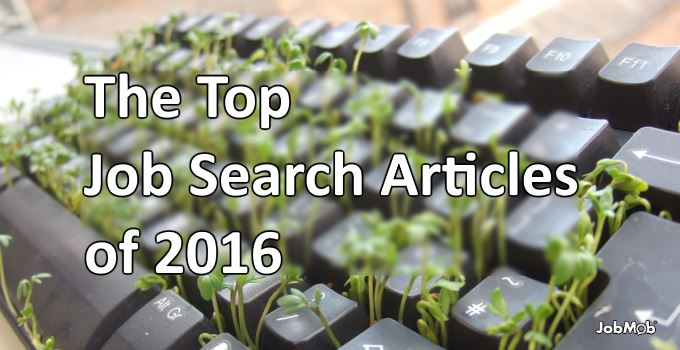 The Top Job Search Articles of 2016