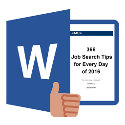 366 Job Search Tips for Every Day of 2016